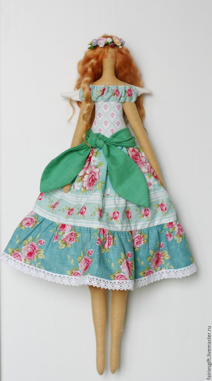 Текстильная кукла Фея Весны, Куклы Тильда, Москва,  Фото №1