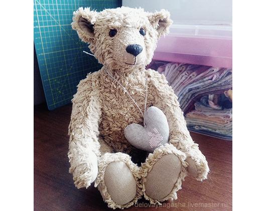 Мишки Тедди ручной работы. Ярмарка Мастеров - ручная работа. Купить Вока, 25 см. Handmade. Мишка, мишка тедди