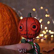 Куклы и игрушки handmade. Livemaster - original item Pumpkin Jack. Handmade.