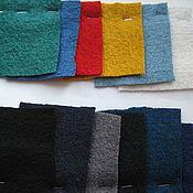 Ткани ручной работы. Ярмарка Мастеров - ручная работа ткань лоден(вареная шерсть ) Италия 7 видов. Handmade.