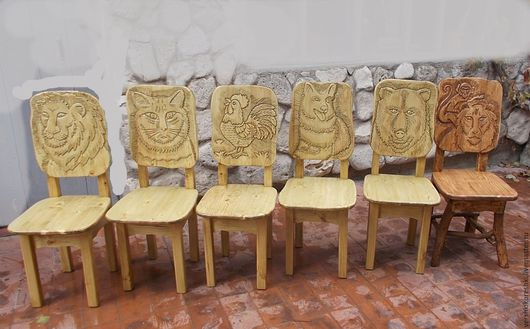 Мебель ручной работы. Ярмарка Мастеров - ручная работа. Купить стул,деревянный стул,стул из массива дерева. Handmade. Коричневый