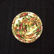 Снуды ручной работы. Ярмарка Мастеров - ручная работа Снуд из павловопосадского платка «Возвращение». Handmade.