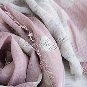 Аксессуары handmade. Livemaster - original item Linen women`s stole