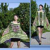 """Одежда ручной работы. Ярмарка Мастеров - ручная работа Пончо """"Аромат роз"""". Handmade."""