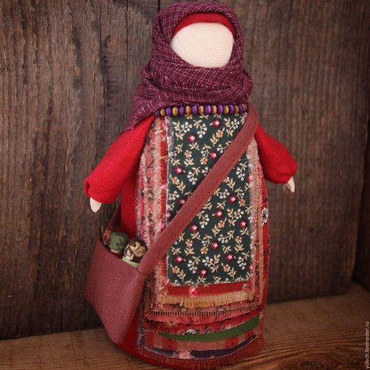 """Народные куклы ручной работы. Ярмарка Мастеров - ручная работа. Купить Куколка-матушка- успешница """"Хлопотунья"""". Handmade. Комбинированный"""