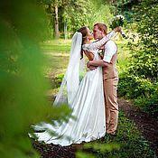 Свадебный салон ручной работы. Ярмарка Мастеров - ручная работа Свадебное платье для Яны. Handmade.