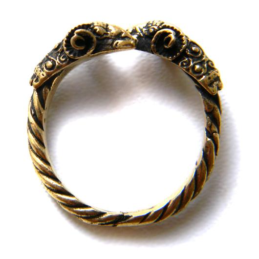 """Кольца ручной работы. Ярмарка Мастеров - ручная работа. Купить Кольцо """"Золотое Руно"""". Handmade. Золотой, оберег, золотое руно"""
