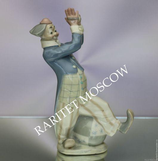 Винтажные предметы интерьера. Ярмарка Мастеров - ручная работа. Купить Клоун мяч гармошка цирк фарфор Испания 1. Handmade.