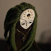 Куклы и игрушки ручной работы. Ярмарка Мастеров - ручная работа лесной дух sphagnum. мох.. Handmade.