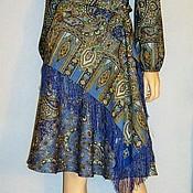 Одежда handmade. Livemaster - original item Dress pavlogoradsky scarves