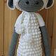 Игрушки животные, ручной работы. Кукла Лупо в костюме овечки. Кербенёва Анна. Интернет-магазин Ярмарка Мастеров. Серый, лупо