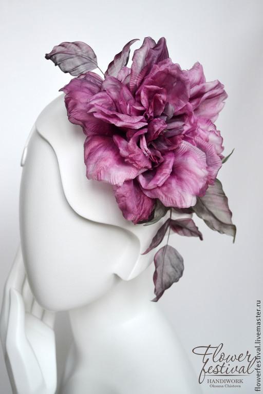 """Цветы ручной работы. Ярмарка Мастеров - ручная работа. Купить Роза из шелка """"First Lady"""". Цветы из ткани. Handmade."""