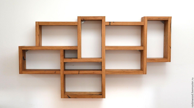 Rustic wood box shelf houseinhabit etsy - home living now #2.