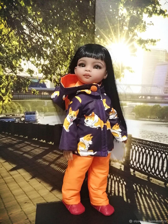 куртка и брючки для кукл Паола Рейна, Одежда для кукол, Магнитогорск,  Фото №1