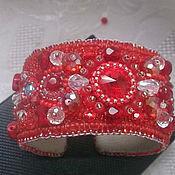 Украшения ручной работы. Ярмарка Мастеров - ручная работа 50 оттенков красного. Handmade.