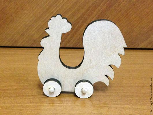 Игрушка `Петушок` (продается в разобранном виде) Размер: 10х10х2 см Материал: фанера 6 мм