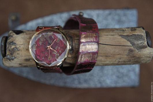 """Часы ручной работы. Ярмарка Мастеров - ручная работа. Купить Часы """"Пламя дракона"""". Handmade. Часы, часы на заказ"""