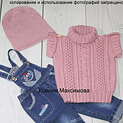 Работы для детей, handmade. Livemaster - original item jacket for girls Spring. Handmade.