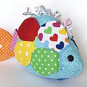 """Куклы и игрушки ручной работы. Ярмарка Мастеров - ручная работа Развивающая игрушка """"Рыбка"""". Handmade."""