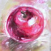 """Картины ручной работы. Ярмарка Мастеров - ручная работа Картина """" Скушай яблочко """". Handmade."""