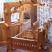Материалы для творчества ручной работы. Ярмарка Мастеров - ручная работа Ткацкий стан двухремизный.. Handmade.