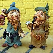 Куклы и игрушки ручной работы. Ярмарка Мастеров - ручная работа Гномы. Handmade.