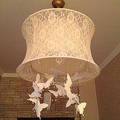 Для дома и интерьера ручной работы. Ярмарка Мастеров - ручная работа Светильник бабочки. Handmade.