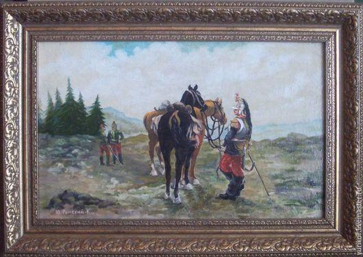 Оружие ручной работы. Ярмарка Мастеров - ручная работа. Купить Солдаты 1812. Handmade. Разноцветный, война, коллекционный, антиквариат, известный