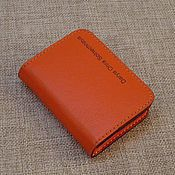 Сумки и аксессуары handmade. Livemaster - original item Cardholders, Business Card, Credit Card. Genuine leather.. Handmade.