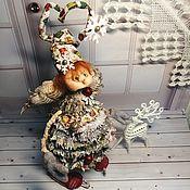 Куклы и игрушки handmade. Livemaster - original item NEW YEAR. Doll interior, collectible.