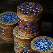 Для дома и интерьера ручной работы. Ярмарка Мастеров - ручная работа Набор мини-баночек для специй (3 штуки). Handmade.