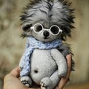 Куклы и игрушки ручной работы. Ярмарка Мастеров - ручная работа Ёжик тедди. Handmade.