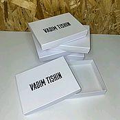 Дизайн ручной работы. Ярмарка Мастеров - ручная работа Подарочная коробка. Handmade.
