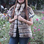 Одежда handmade. Livemaster - original item Fur vest. Handmade.