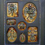 Для дома и интерьера ручной работы. Ярмарка Мастеров - ручная работа Экспонаты неизвестных существ. Handmade.
