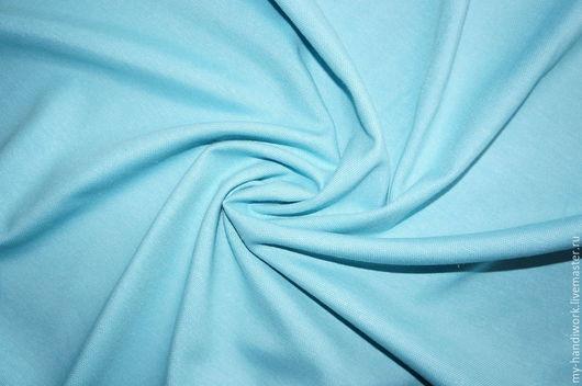 Шитье ручной работы. Ярмарка Мастеров - ручная работа. Купить Ткань хлопок с покрытием TEFLON ярко-голубая DRM2925. Handmade.