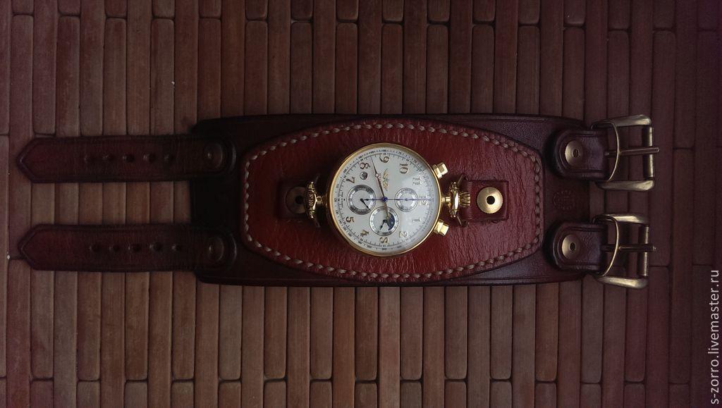 Напульсник для часов своими руками