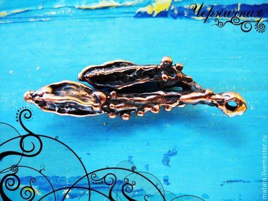 Для украшений ручной работы. Ярмарка Мастеров - ручная работа. Купить Дети природы 0523-150 (2). Handmade. Коричневый