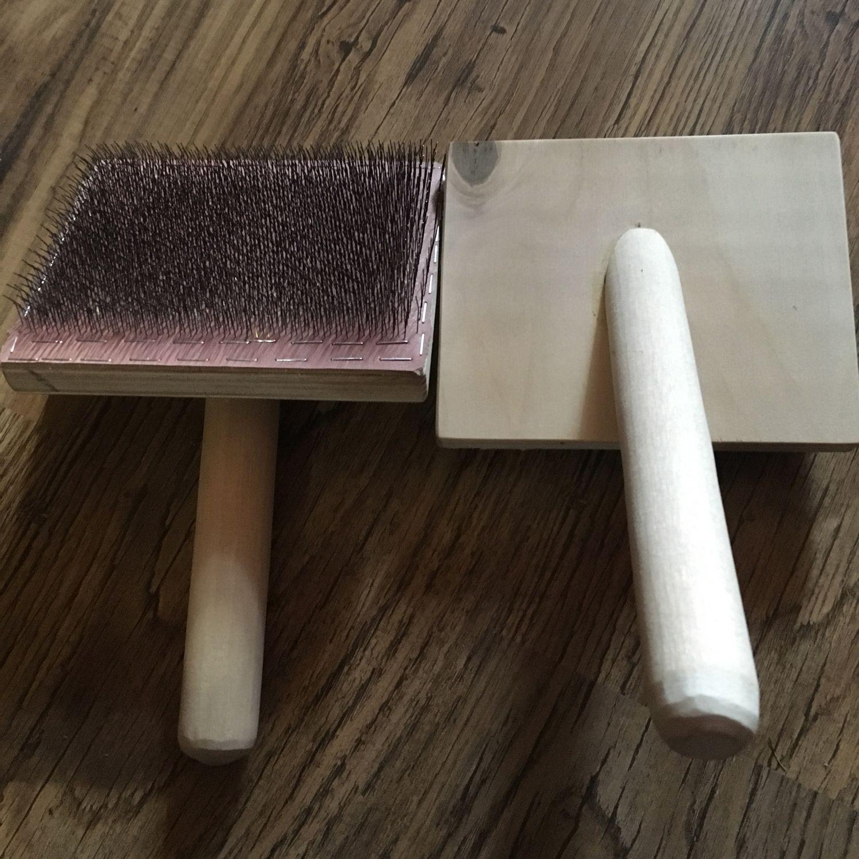 Чески для шерсти или кардер ручной – заказать на Ярмарке Мастеров – FBOYXRU | Инструменты для вязания, Москва