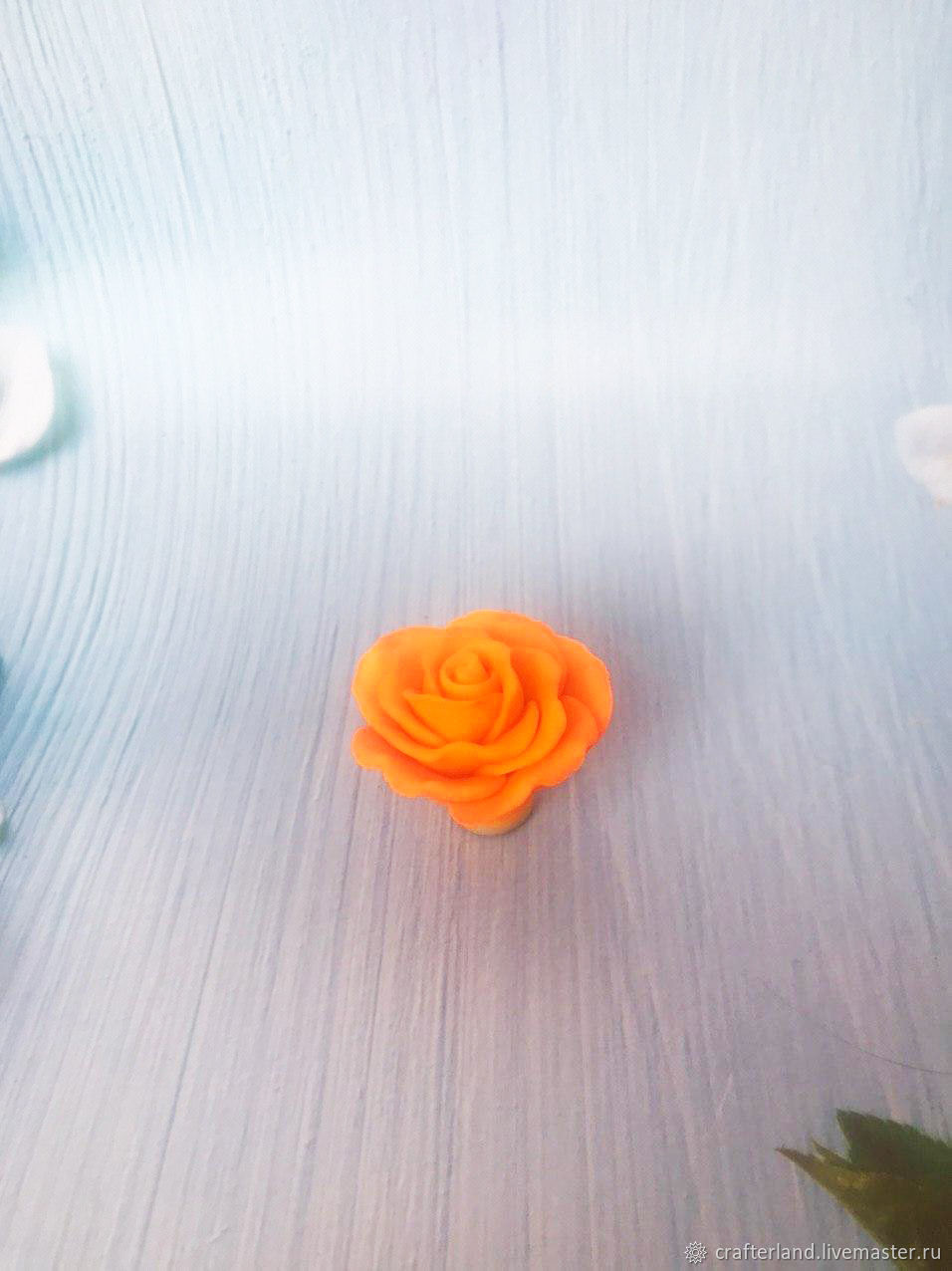 Silicone mold for soap / chocolate ' rose mini 2', Form, Istra,  Фото №1