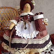 Куклы и игрушки ручной работы. Ярмарка Мастеров - ручная работа Дамочка с ароматом кофе. Handmade.