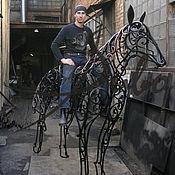 Подарки к праздникам ручной работы. Ярмарка Мастеров - ручная работа Кованный конь. Лошадь. Handmade.