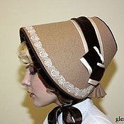 Аксессуары handmade. Livemaster - original item Warm bonnet Reconstruction of Exclusive. Handmade.