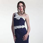 Одежда ручной работы. Ярмарка Мастеров - ручная работа 092: вечернее платье в пол, облегающее платье вечернее, платье годе. Handmade.