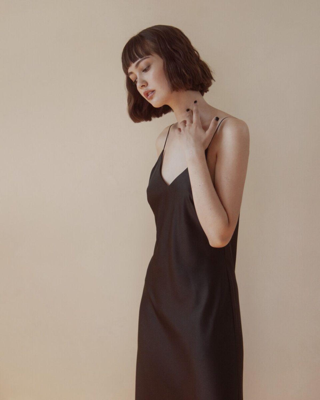 Шелковое Платье Шелковые Волосы