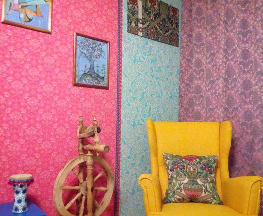Текстиль, ковры ручной работы. Ярмарка Мастеров - ручная работа. Купить 2 Шторы классические, как для обычных, так и для необычных интерьеров. Handmade.