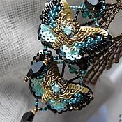 """Украшения ручной работы. Ярмарка Мастеров - ручная работа комплект""""бабочки"""". Handmade."""
