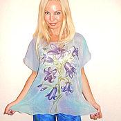 Одежда ручной работы. Ярмарка Мастеров - ручная работа блуза - Колокольчики. Handmade.