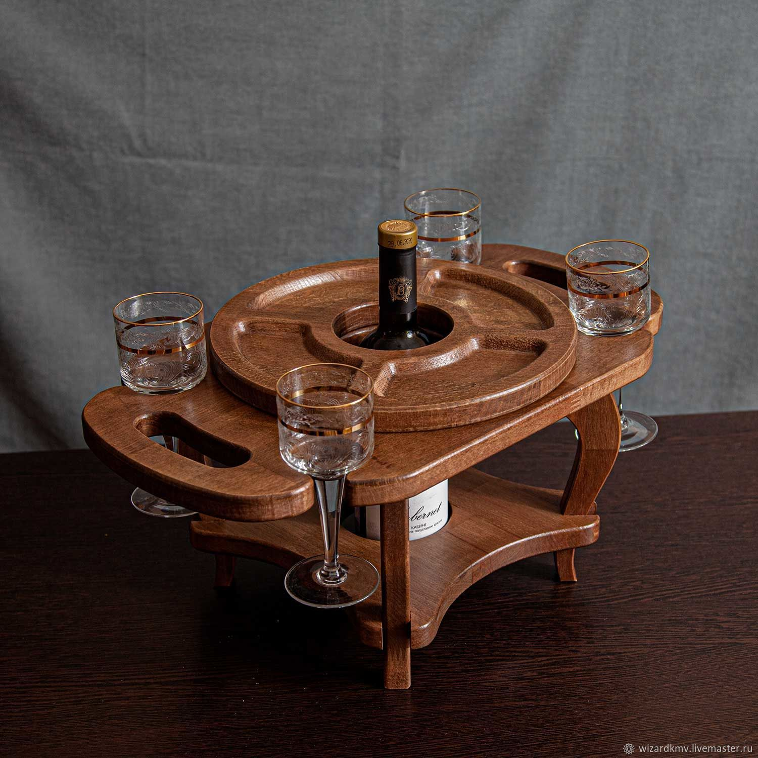 A wine table, Stand for bottles and glasses, Pyatigorsk,  Фото №1