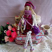 Куклы и игрушки ручной работы. Ярмарка Мастеров - ручная работа Тильда кукла Таша и коняша. Handmade.